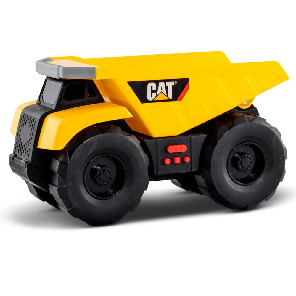 Dump Truck Black Caterpillar - Big Builder - DTC
