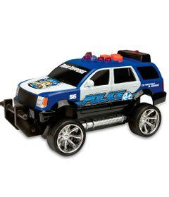 Carro-de-Policia---Road-Rippers---Mini-Rush---Rescue---Azul