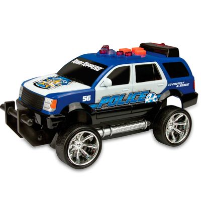 Carro-de-Policia---Road-Rippers---Mini-Rush---Rescue---Azul