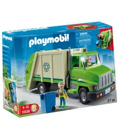 Playmobil-City---Caminhao-de-Reciclagem---5938