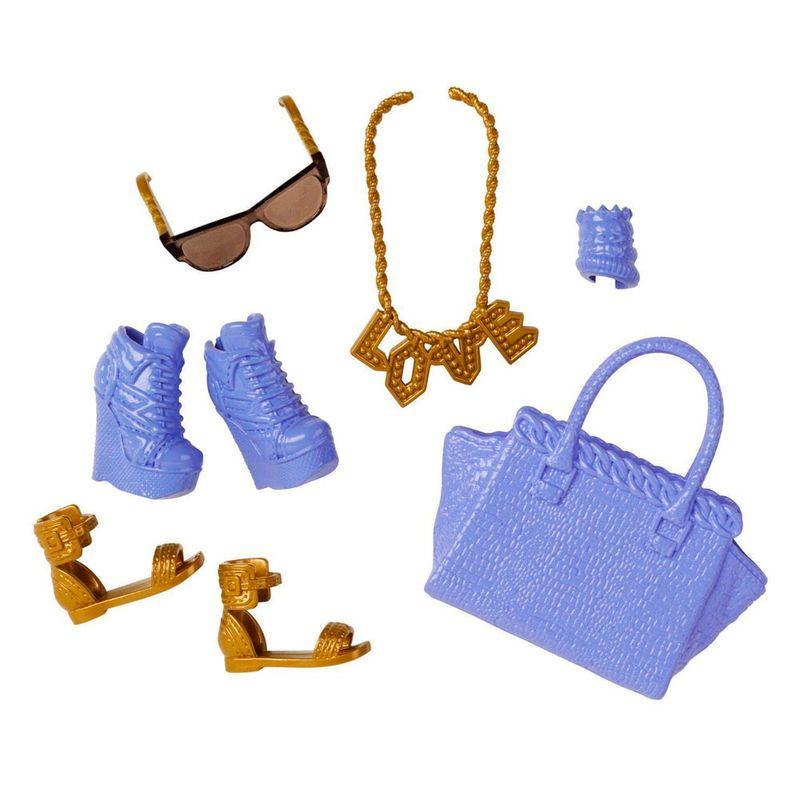 fd38c6b24 Acessórios Barbie - Bolsas e Sapatos - Serie - 4 - Mattel - PBKIDS