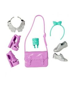 b50326e56 Acessórios Barbie - Bolsas e Sapatos - Serie - 5 - Mattel