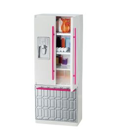 Casa-da-Barbie---Moveis---Geladeira---Mattel