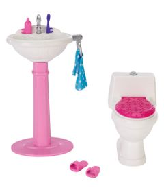 Casa-da-Barbie---Pia-e-Vaso-Sanitario---Mattel