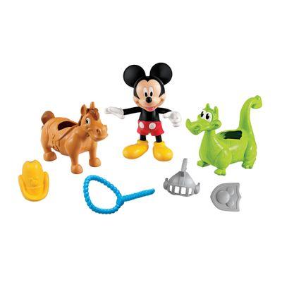 Playset-Mickey-Mouse-Club-House---Aventura-Animal---Cavalo-e-Dragao---Mattel