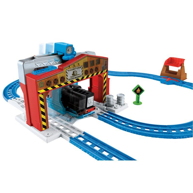 d1d6747fa Ferrovia Motorizada - Carga do Diesel - Thomas & Friends - Fisher-Price - Ri  Happy Brinquedos