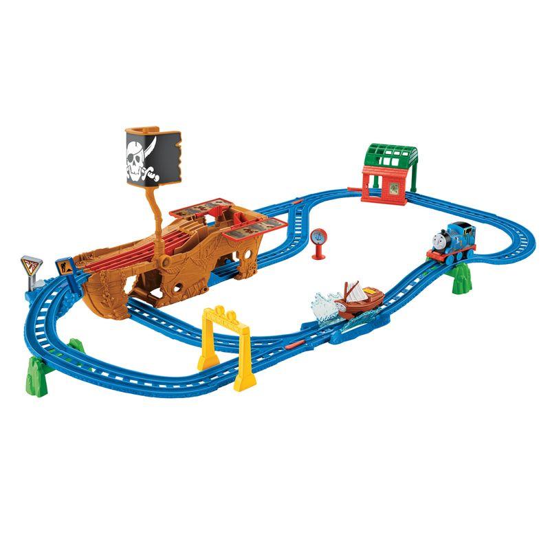 6d746eb22 Ferrovia Motorizada - Aventura Pirata - Thomas & Friends - Fisher-Price