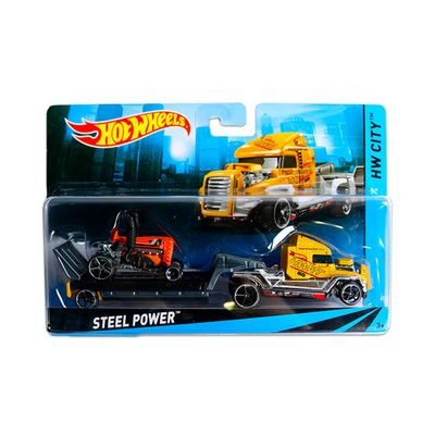Caminhao-Transportador-Hot-Wheels---Steel-Power---Mattel