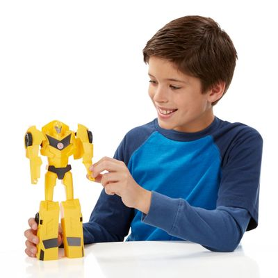 Boneco-Transformers---Titan-Changers---Robots-In-Disguise---Bumblebee---Hasbro-1