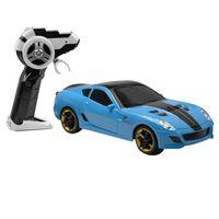 Carrinho-de-Controle-Remoto---Serie-Garagem-SA---Drill-Azul---Candide