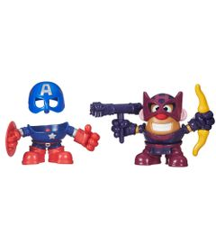 Mini-Boneco-Mr.-Potato-Head---Marvel---Capitao-America-e-Hawkeye---Hasbro-1