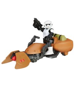 Playset-Star-Wars---Playskool---Scout-Trooper-e-Moto-Speeder---Hasbro-1