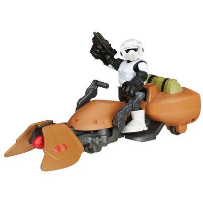 Playset-Star-Wars---Playskool---Scout-Trooper-e-Moto-Speeder---Hasbro-1