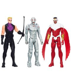 100110415-Kit-Bonecos-Marvel-Avengers-Titan-Hero-Series-30-cm-Hawkeye-Ultron-Falcon-e-Thor-Hasbro