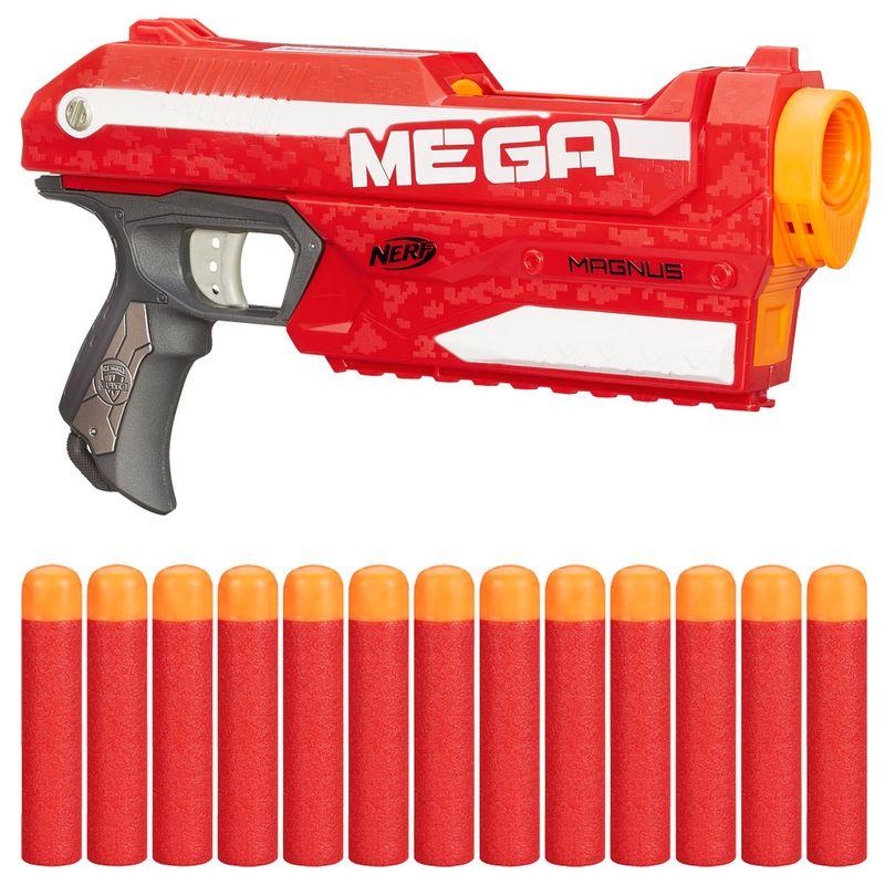 416f4834f9a Lançador Nerf N-Strike Elite - Mega Magnus + Refil com 10 Dardos - Hasbro -  Ri Happy Brinquedos