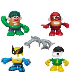 100110460-Mini-Bonecos-Mr.-Potato-Head-Marvel-Hulk-Wolverine-Spider-Man-e-Doctor-Octopus-Hasbro
