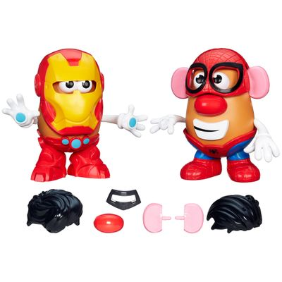 100110464-Bonecos-Mr-Potato-Head-Classicos-Homem-de-Ferro-e-Homem-Aranha-Playskool-Hasbro