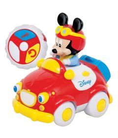 Carrinho-de-Controle-Remoto---Meu-Primeiro-Carrinho---Mickey-Mouse---Dican