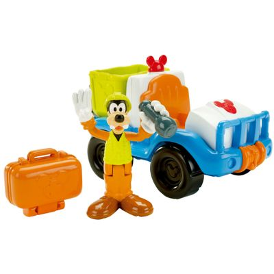 Playset-Mickey-Mouse-Club-House---Jipe-de-Resgate---Mattel