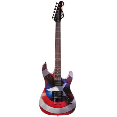 Guitarra-Avengers---Marvel---Capitao-America---Phoenix