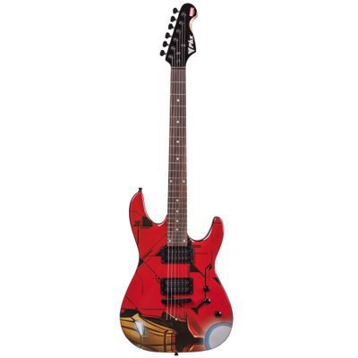 Guitarra-Avengers---Marvel---Iron-Man---Phoenix