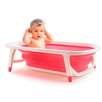 Banheira-Dobravel-Flex-Bath-Girls---Multikids-Baby