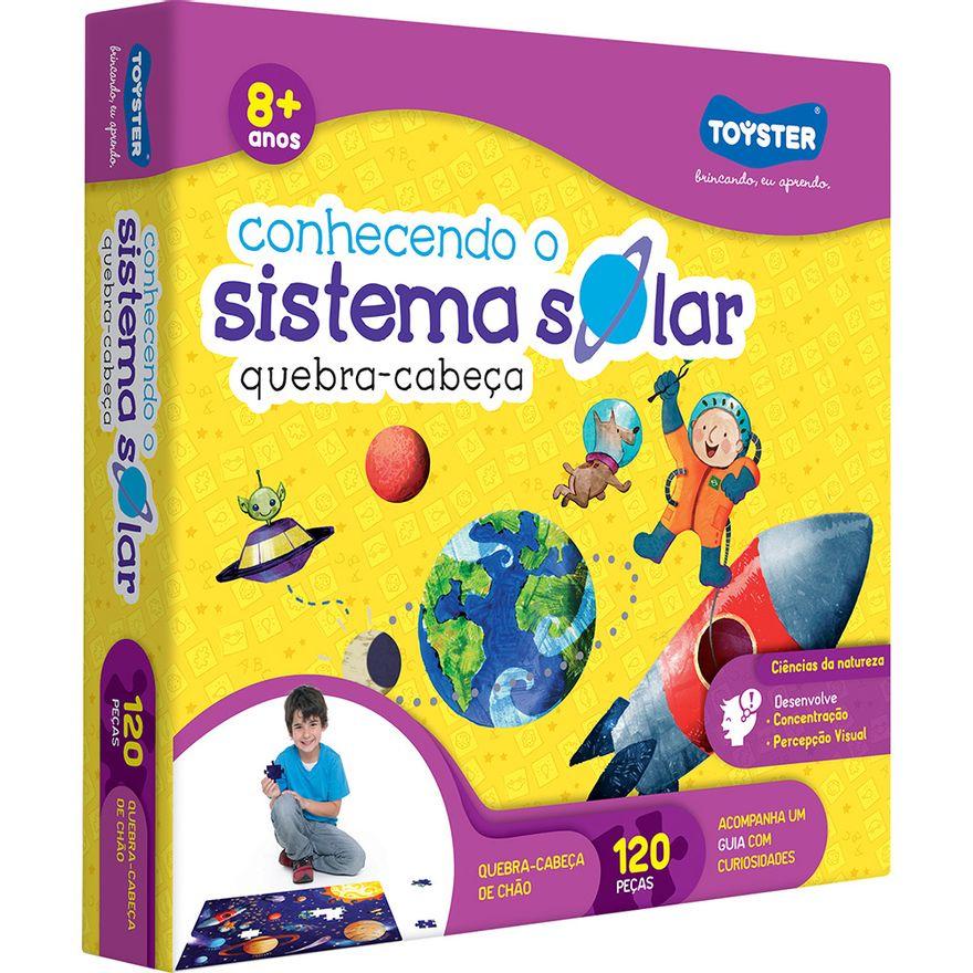 Quebra-Cabeca-Grandao---Conhecendo-o-Sistema-Solar---120-Pecas---Toyster