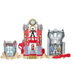 Playset-Marvel-Super-Hero-Adventures---Playskool---Laboratorio-Stark---Hasbro