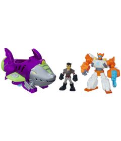Playset-Transformers-Rescue-Bots---Playskool---Shark-Sub-Capture---Hasbro