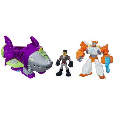 Playset-Transformers-Rescue-Bots---Playskool---Shark-Sub-Capture---Hasbro