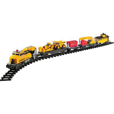 Locomotiva-Caterpillar---CAT---Construction-Express-Train---DTC
