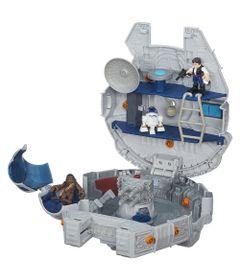 Veiculo-Star-Wars---Playskool-Galactic-Hero---Millenium-Falcon---Hasbro