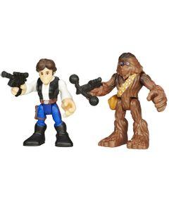 Boneco-Star-Wars---Playskool---Han-Solo-e-Chewbacca---Hasbro
