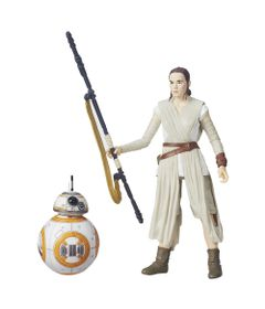 Figura-Colecionavel-Star-Wars---The-Black-Series---14-cm---Rey-Jaku---BB-8---Hasbro