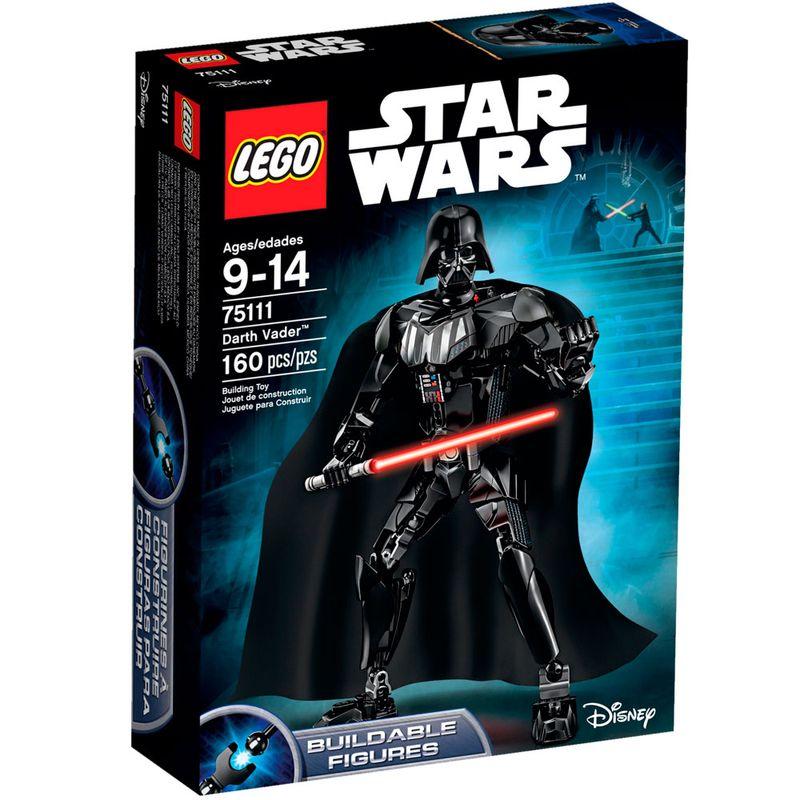 b359bde021c015 LEGO Star Wars - Darth Vader - Disney - 75111 - Ri Happy Brinquedos