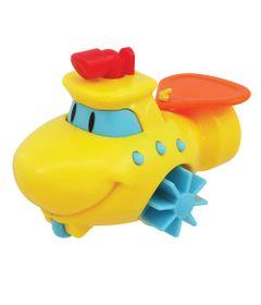 Brinquedo-de-Banho---Barquinho-Aqua-Zuum-Amarelo---Dican