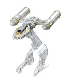 Nave-Star-Wars---Y-Wing-Gold---Hot-Wheels---Mattel