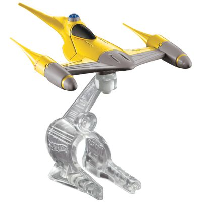 Nave-Star-Wars---Naboo-N1-Starfighter---Hot-Wheels---Mattel