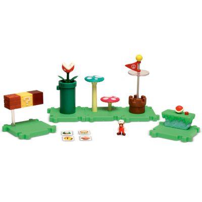 Playset-Micro-Land-Deluxe---World-Of-Nintendo-Super-Mario-Bros---Grande-Carvalho---DTC