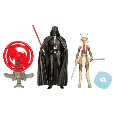 Bonecos-Star-Wars---Episodio-VII---9-cm---Darth-Vader-e-Ahsoka-Tano---Hasbro