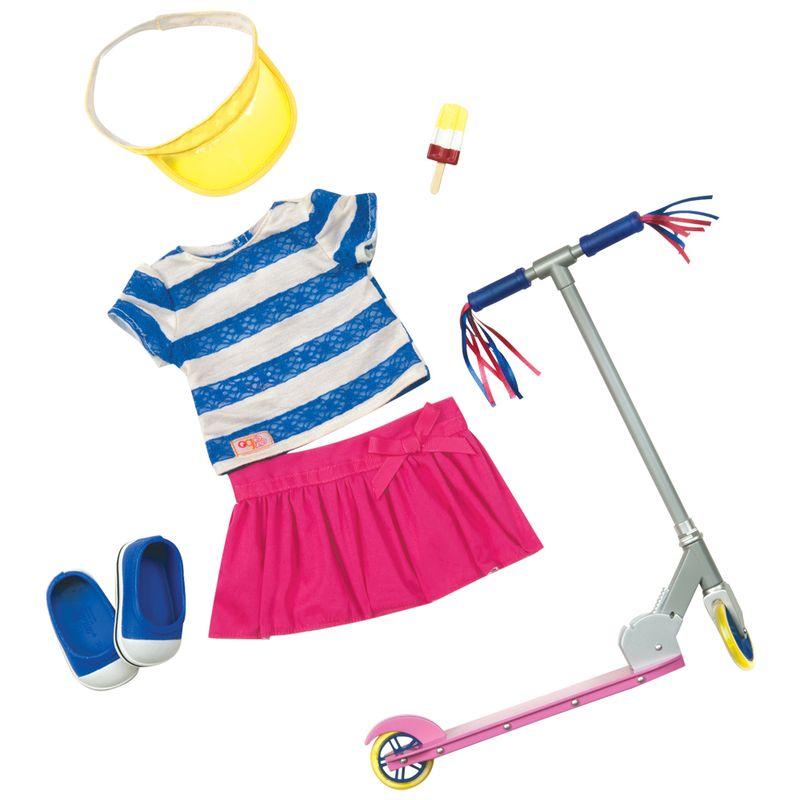 222480c99 Roupa para Passear de Patinete - Our Generation - Ri Happy Brinquedos