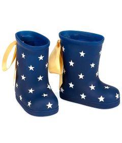 kit-de-sapatos-galocha-azul-com-estrelas-our-generation-candide