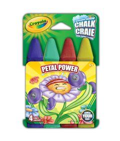 Conjunto---Giz-para-Calcada---Chalk-Petal-Power-4-Cores---Crayola