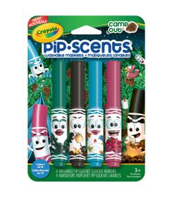Canetinha-Perfumavel---Pip-Scents---Camp-Out-4-Cores---Crayola
