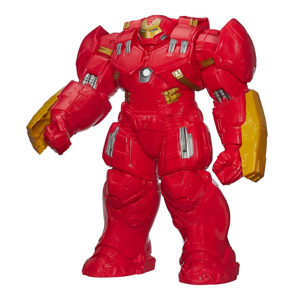 Boneco Titan Hero - 45 cm - Marvel Avengers 2 Age Of Ultron - Armadura Hulkbuster - Hasbro - Disney