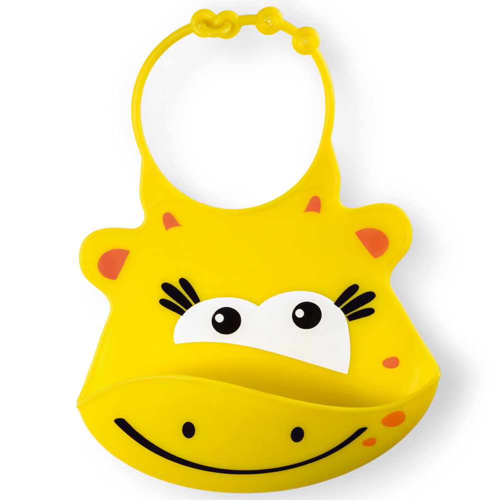 Babador de Silicone - Girafinha - Multikids Baby
