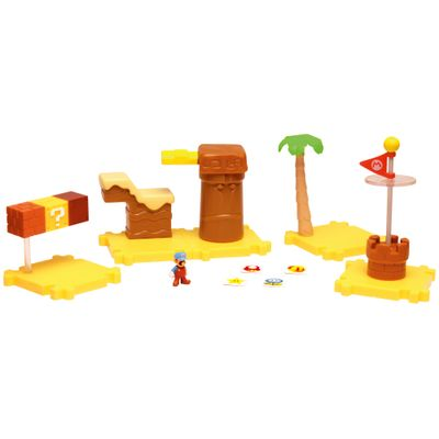playset-micro-land-deluxe-world-of-nintendo-super-mario-bros-dunas-de-mel-dtc
