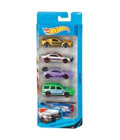 carrinhos-hot-wheels-pacote-com-5-carros-police-pursuit-5-mattel