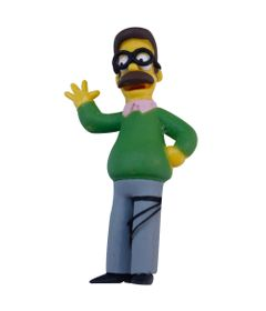 Mini-Figura---Os-Simpsons---5-cm---Ned-Flanders---Multikids