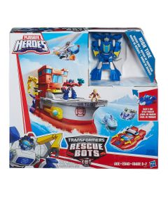 Playset-Transformers-Rescue-Bots---Playskool---Navio-High-Tide---Hasbro